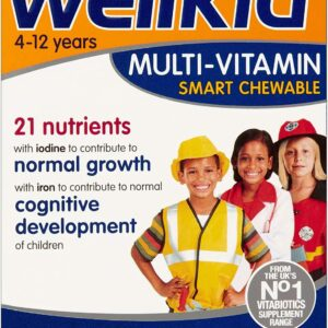 WELLKID CHEWABLE MULTIVITAMIN
