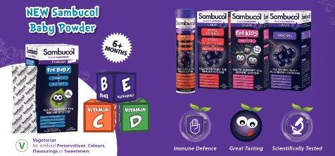 sambucol product range