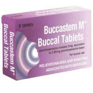 Buccastem M Buccal Tablets, 8 Tablets