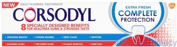 Corsodyl complete toothpaste