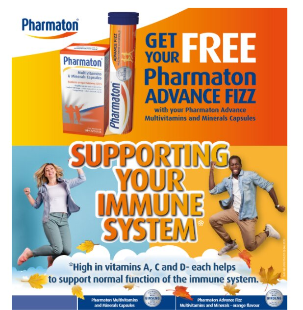 Pharmaton immune support