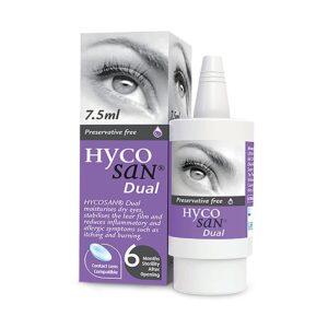 Hycosan Dual Preservative Free Fresh Eye Drops