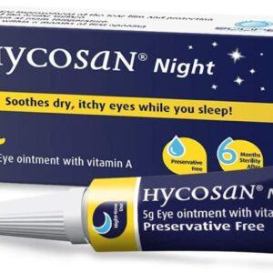 Hycosan Night eye ointment