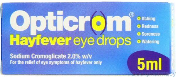 opticrom allergy eye drops