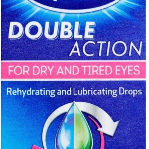 Optrex Eye Drops For Dry And Tired Eyes Double Action