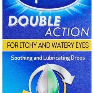 Optrex Double Action Eye drops for Soothing itchy and Watery