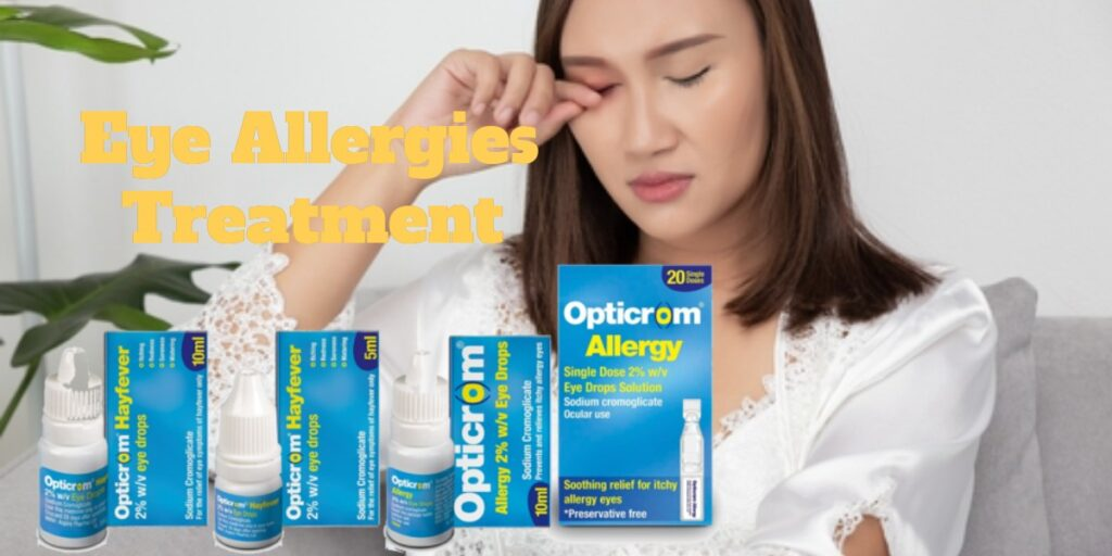 Optricrom allergy eye treatment range