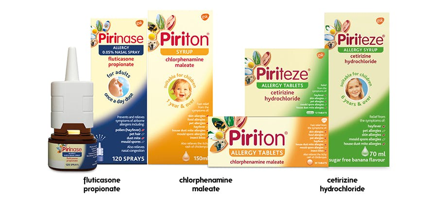 products for allergy treatment