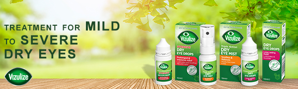 vizulize dry eye product range