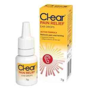 Cl-Ear Pain Relief Ear Drops 12ml