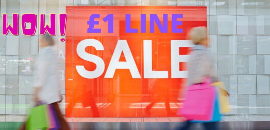 £1 Line Offer