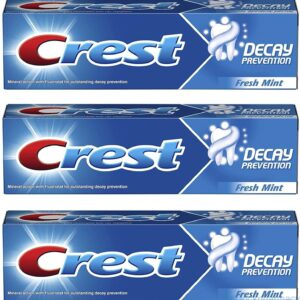 Crest Decay Prevention Toothpaste Fresh Mint Flavour