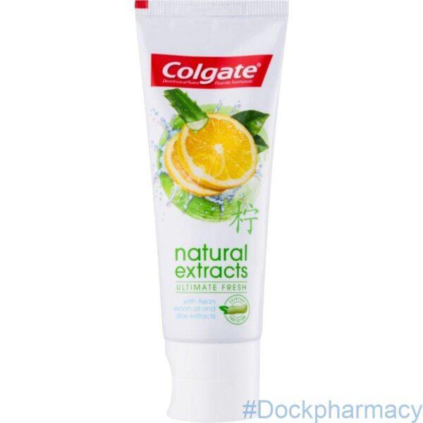 Colgate Natural Lemon Toothpaste 75ml