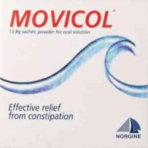 Movicol Lemon & Lime Powder Sachets Pack of 30