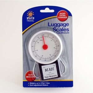 Sure Travel Luggage Scales and Tape Measure