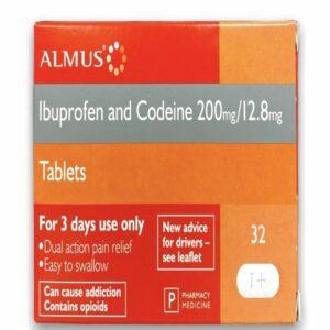 almus ibuprofen and codeine tablets
