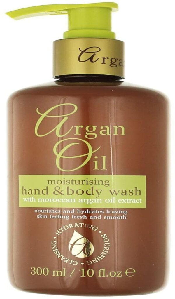 Buy Argan Oil Moisturising Hand and Body Wash with Moroccan Argan Oil Extract 300ml