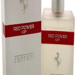 Red Power Ice 3 Men EDT Spray by Ferrari