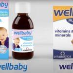 Wellbaby and wellkid product range