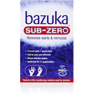Bazuka Sub Zero Freeze Treatment And Removal Of Warts And Verrucas