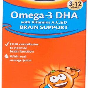 Haliborange Omega 3 DHA Brain Support Orange Flavoured Syrup