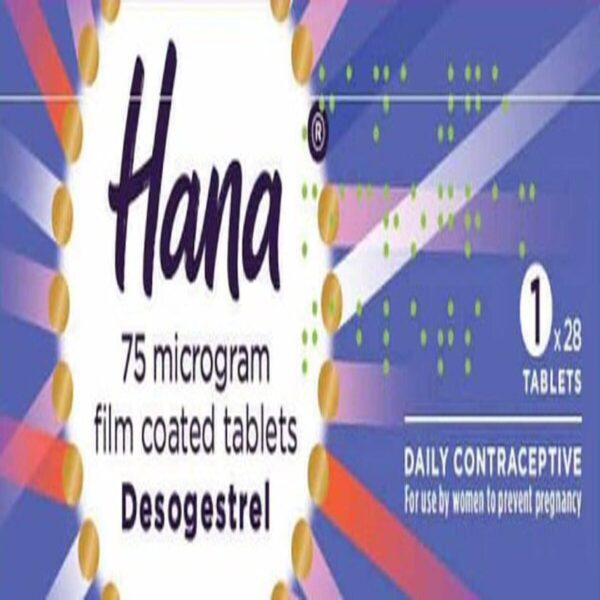 Hana Desogestrel Oral Contraceptive Tablets