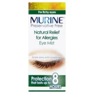 Murine Natural Relief for Allergies Eye Preservative Free Mist