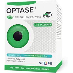 OPTASE EyeLid Cleansing Wipes Preservative Free