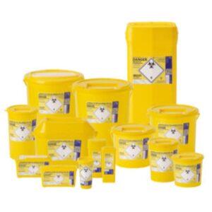 Sharpsguard Yellow Sharps Bin Sharps Disposable Bin