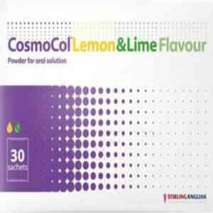 Cosmocol Lemon And Lime Flavour, 30 Sachets
