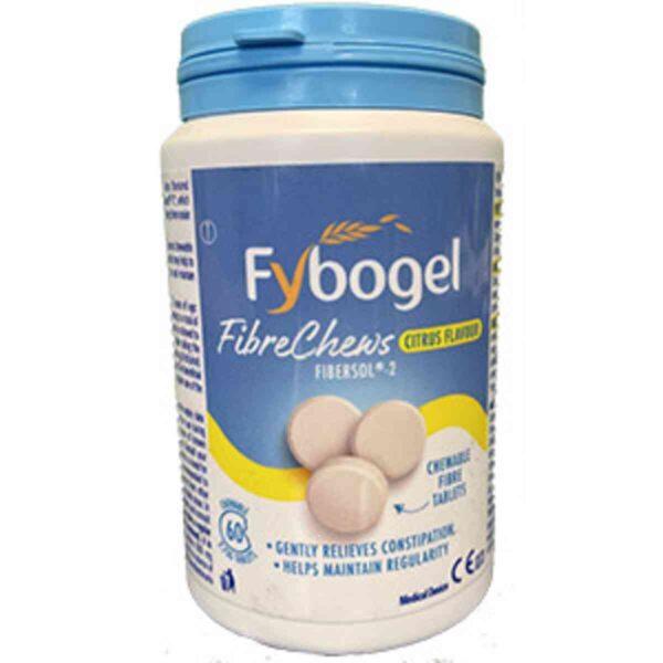 Fybogel Fibre Chews, 60 Chewable Tablets