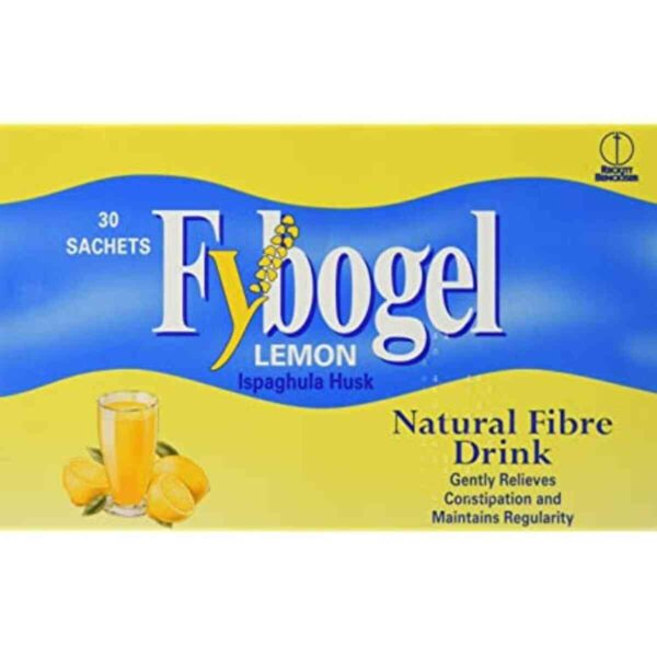 Fybogel Lemon Flavoured Laxative Sachet, 30 Sachets