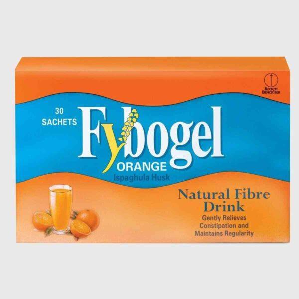 Fybogel Orange Flavoured Laxative Sachet, 30 Sachets