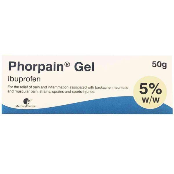 Phorpain Ibuprofen Gel 5%, 50g