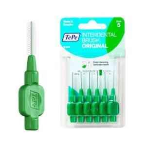 TePe Interdental Brushes Green 0.8mm - Size 5