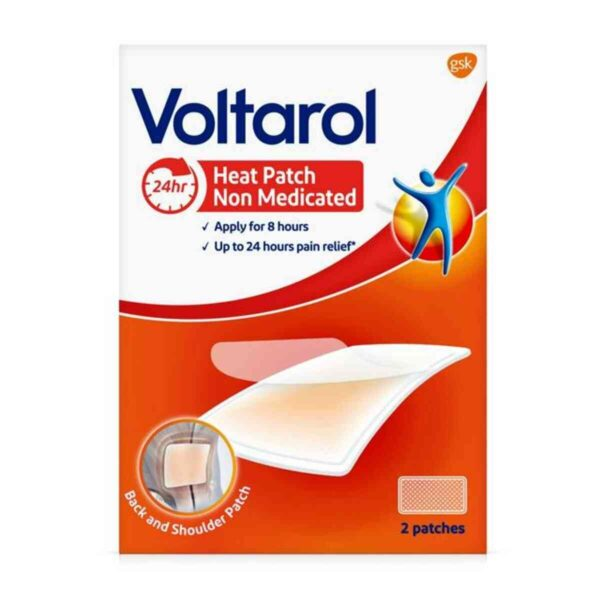Voltarol Non Medicated Pain Relief Heat Patch, 2 Patches