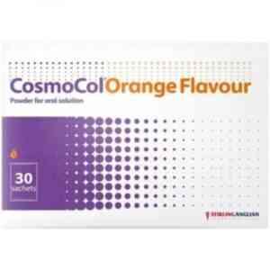Cosmocol Orange Flavour Sachet, 30 Sachets