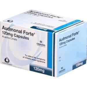 Audmonal Forte 120mg Capsules, 60 Capsules