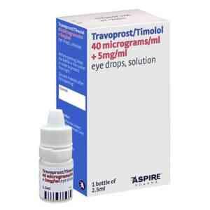 Travoprost Timolol Eye Drops - Duotrav Eye Drops Generic, 2.5ml